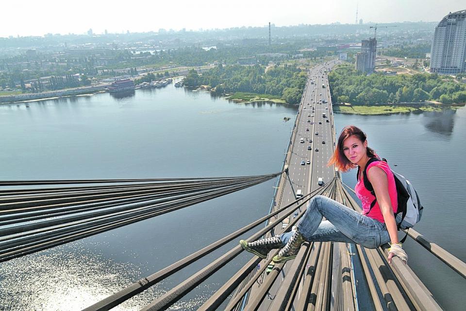 Фото селфи с моста сами камеры