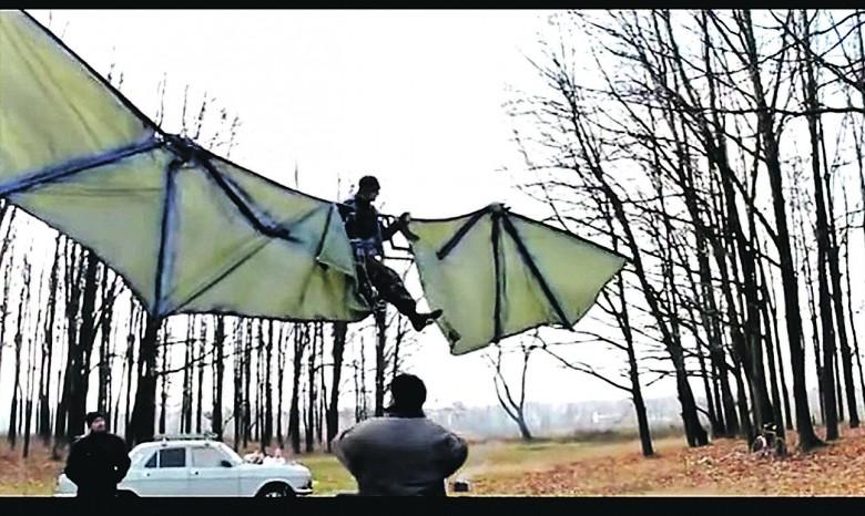 Как сделать крылья для человека 390