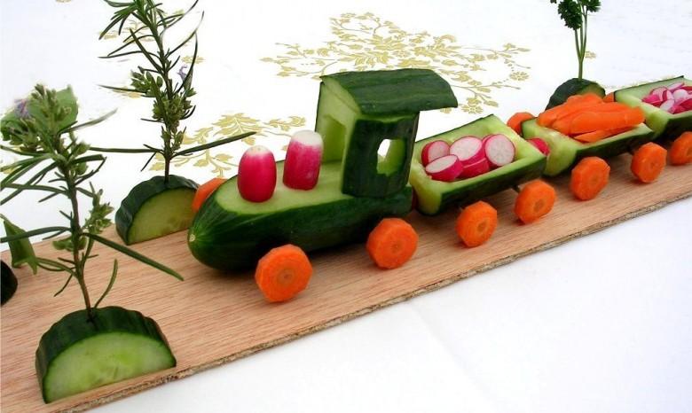 Поделки овощи и фрукты своими руками