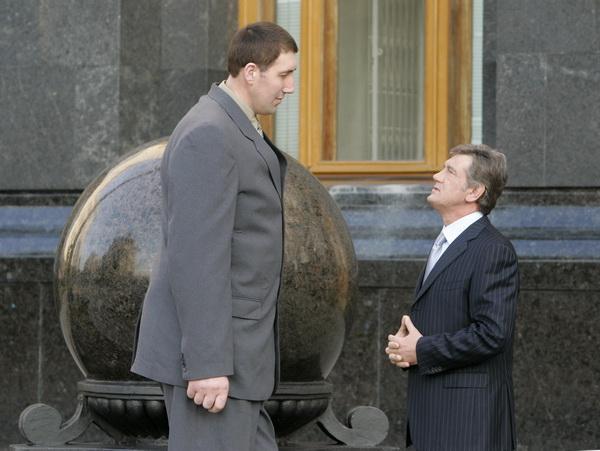 Умер самый высокий человек на планете - украинец Леонид Стадник - Цензор.НЕТ 5493
