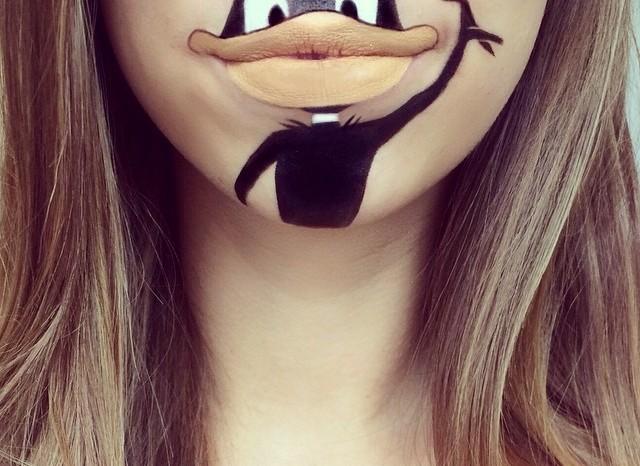 губы уточкой фото