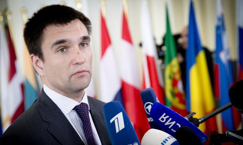 Климкин: санкции противРФ нужны, пока она непокинет Донбасс