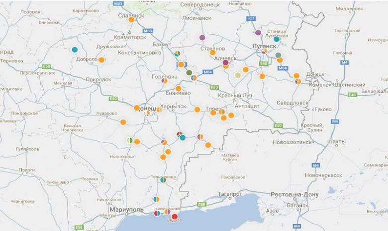 Волонтеры идентифицировали наДонбассе военнослужащих из75 русских воинских частей