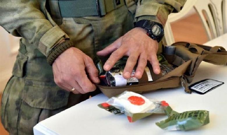 Внедрение стандартов НАТО всостав индивидуальных военных аптечек