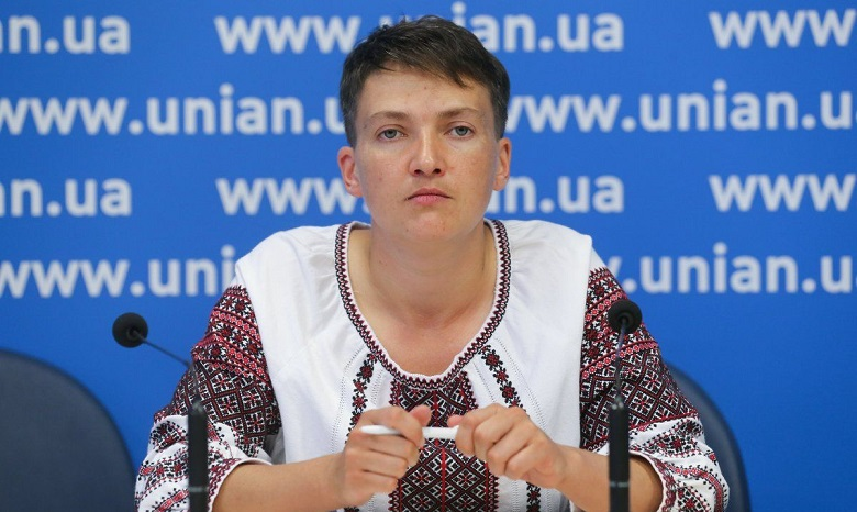 Савченко овстрече сПлотницким иЗахарченко: Ячертей неувидела