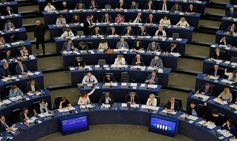 Насайте Европарламента пропала дата рассмотрения безвиза для государства Украины