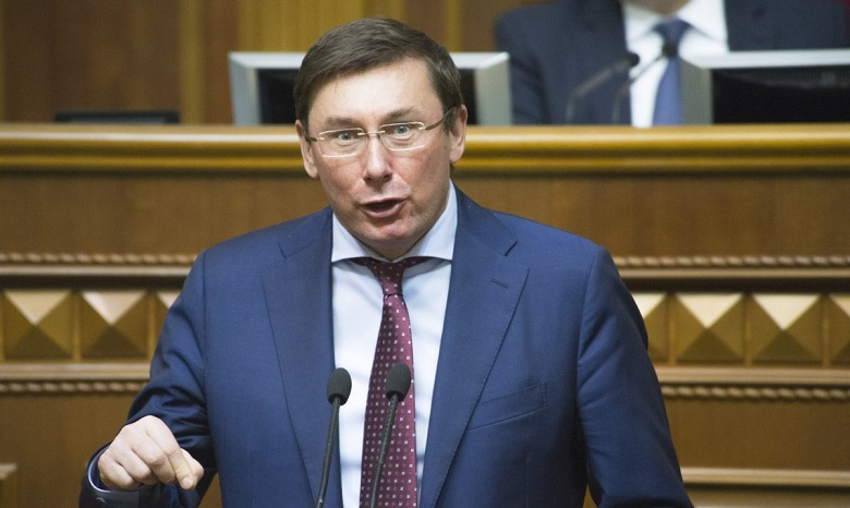 Луценко говорит, что неуступит свою должность для Шокина