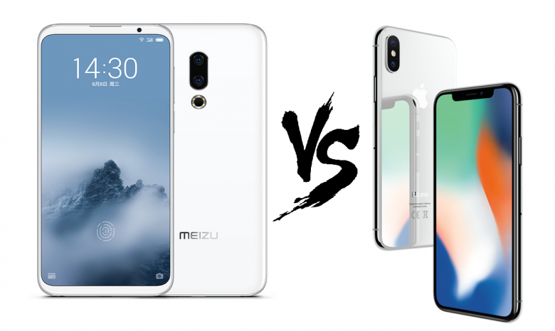 Что лучше: Meizu 16th против iPhone X!