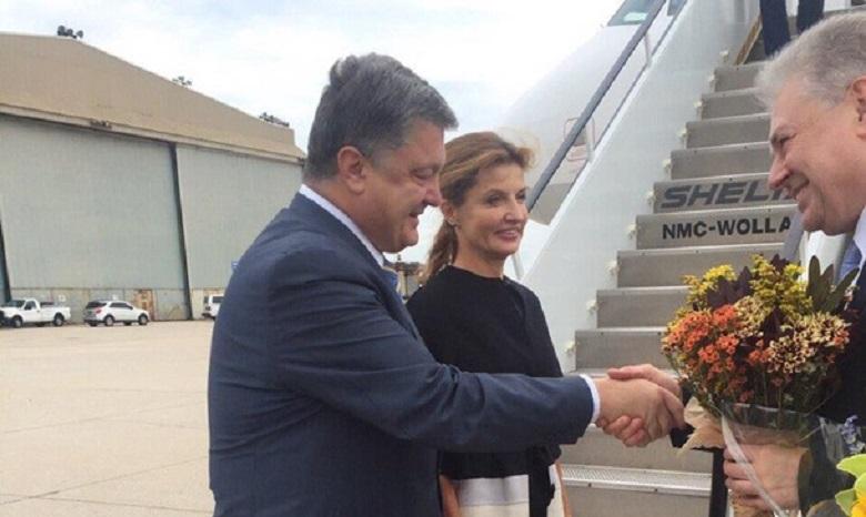 Порошенко наГенассамблее ООН случайно попал вкомнату встреч русской делегации